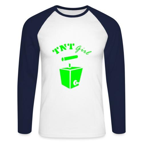 lange mouwen shirt - Mannen baseballshirt lange mouw