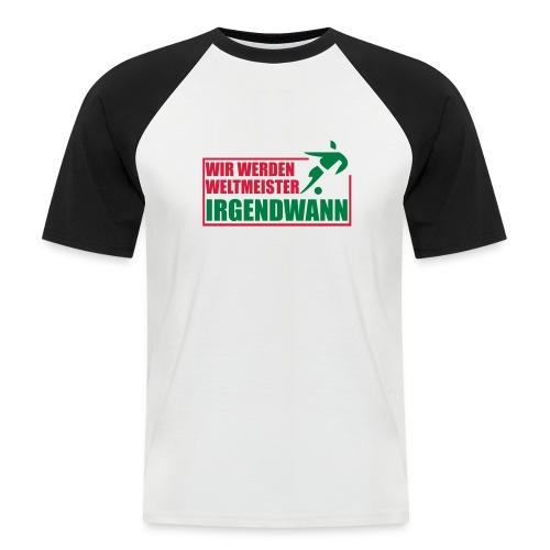 Weltmeister - Männer Baseball-T-Shirt