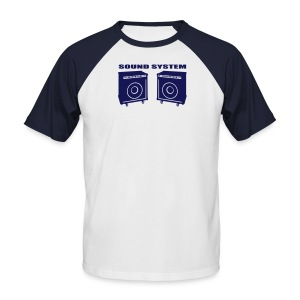 Sound System - Men's Baseball T-Shirt