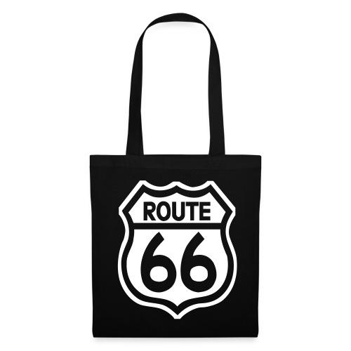 Einkaufstasche - Route 66 - Stoffbeutel