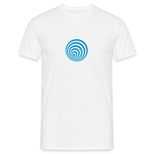 Men's T-Shirt - Light Blue Ellipsen Logo