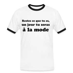 has Been White - T-shirt contrasté Homme