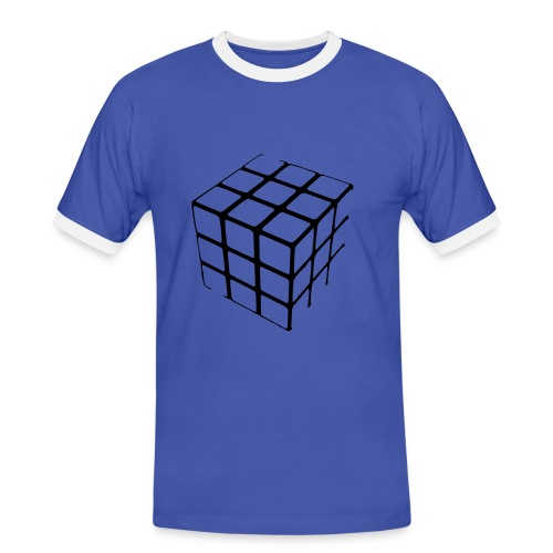 CUBIC.MEN TOP - Men's Ringer Shirt