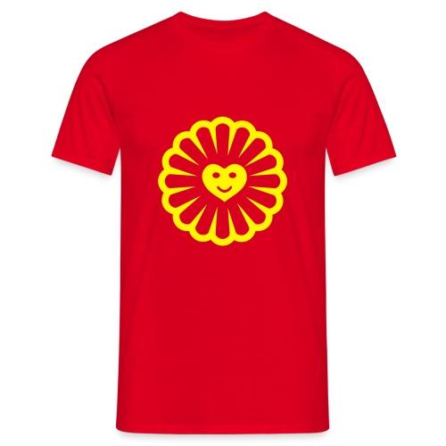 lOVE flower - T-shirt Homme