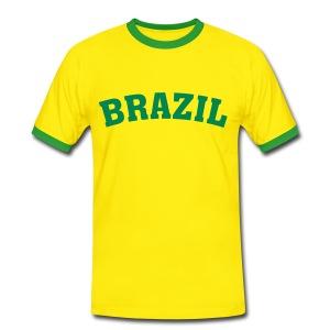 Brazil - Mannen contrastshirt