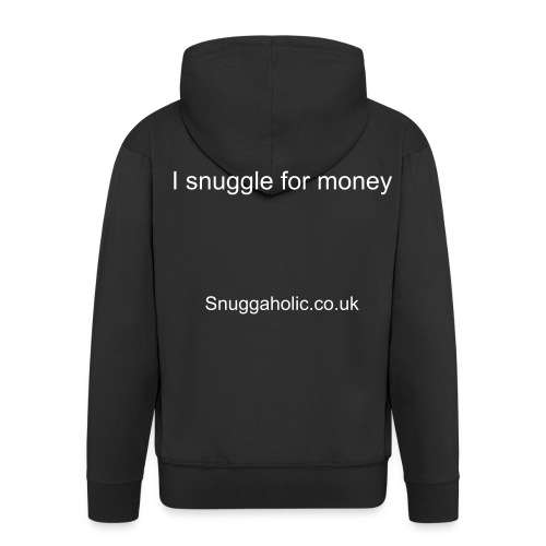 Snuggle for money hoodie - Men's Premium Hooded Jacket