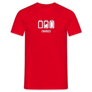 Opgeladen - Mannen T-shirt