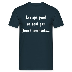 mechant_blanc - T-shirt Homme