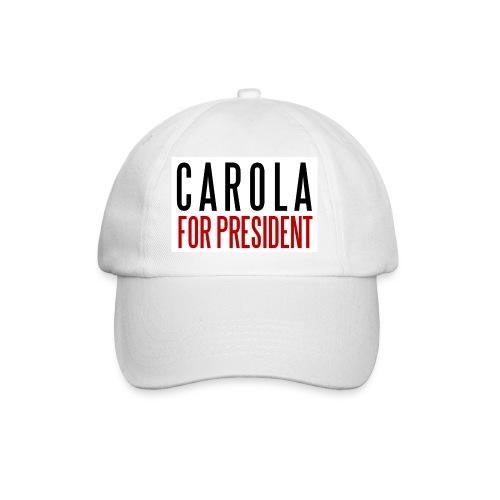 CAROLA FOR PRESIDENT - Basebollkeps