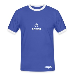 Power.mp5 - T-shirt contrasté Homme