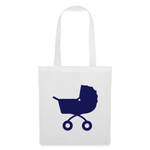 Pram Tote Blue - Tote Bag
