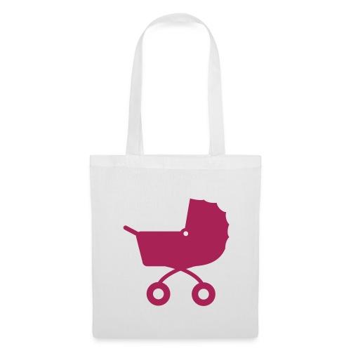 Pram Tote Pink - Tote Bag
