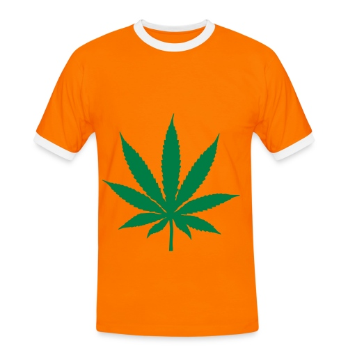 Weed Orange - Men's Ringer Shirt