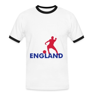 NEW white england top - Men's Ringer Shirt