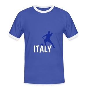 NEW italy blue top - Men's Ringer Shirt