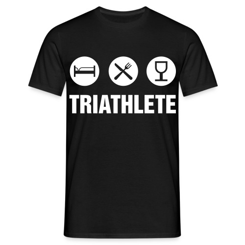 Triathlete - Men's T-Shirt