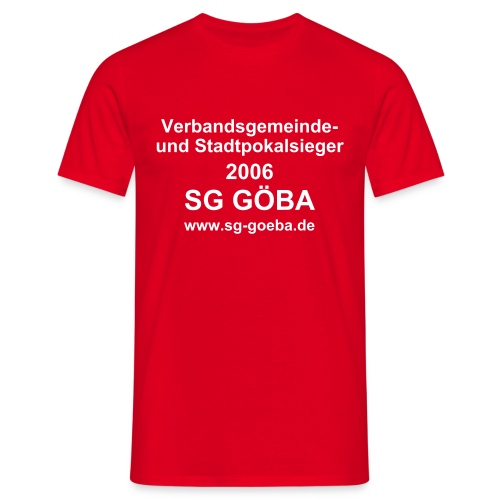 SG Double Shirt Rot - Männer T-Shirt