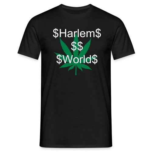 Harlem World - T-skjorte for menn