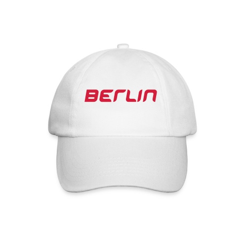 Berlin Cap white/red - Baseballkappe
