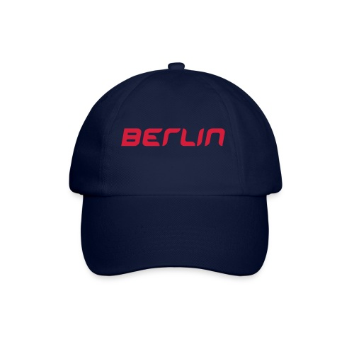 Berlin Cap blue/red - Baseballkappe