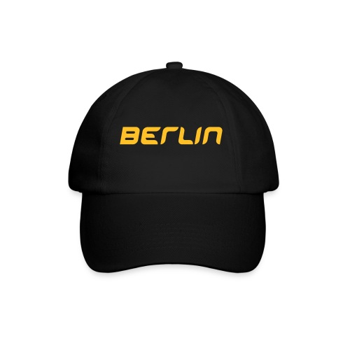 Berlin Cap black/yellow - Baseballkappe