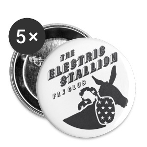 unisex THE ELECTRIC STALLION FANCLUB badge - Buttons medium 32 mm