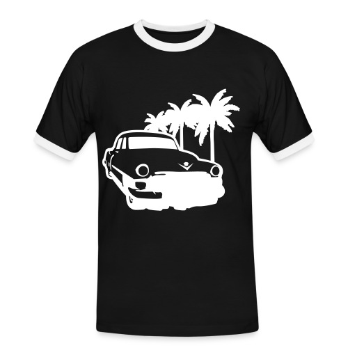 Summer Cruise - Kontrast-T-shirt herr