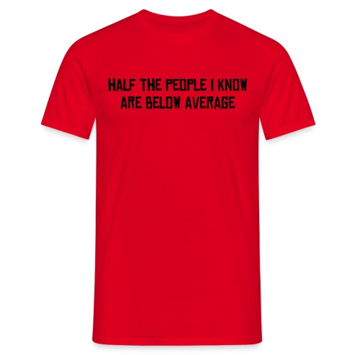 average t - Men's T-Shirt