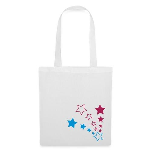 Stars White - Tote Bag