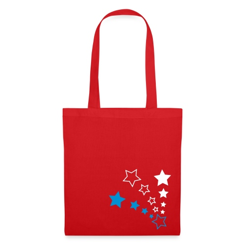 Stars Red - Tote Bag