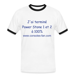 Power Stone - T-shirt contrasté Homme