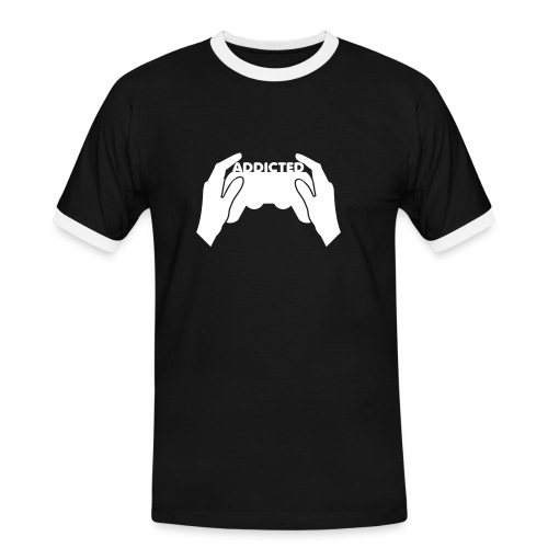 Player addicted - T-shirt contrasté Homme