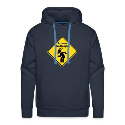 Extreme Headbanging - Sweat-shirt à capuche Premium pour hommes