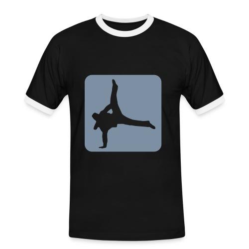 free - T-shirt contrasté Homme