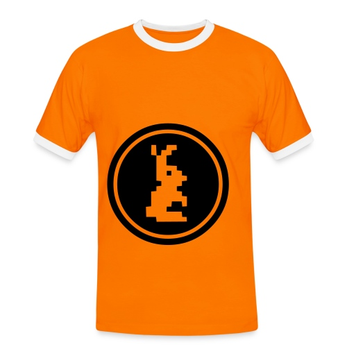 lapinou - T-shirt contrasté Homme