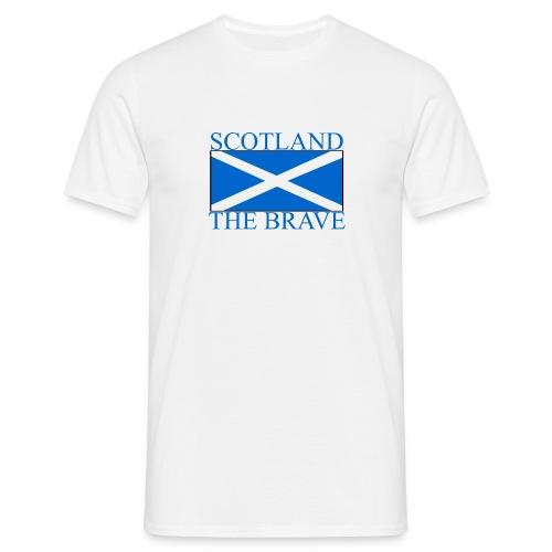 Scotland the Brave - Men's T-Shirt