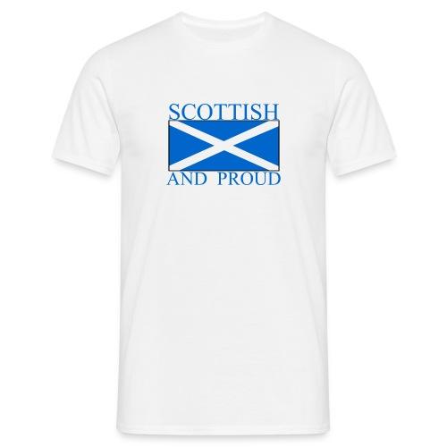 Scottish and Proud - Men's T-Shirt