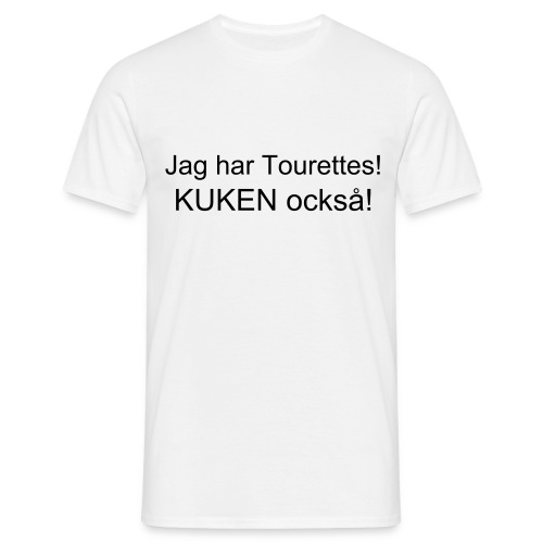 Tourettes - T-shirt herr