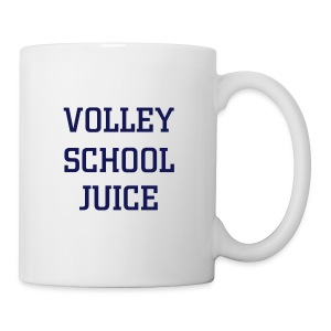 Mug from which to drink patented volley school juice - Mug
