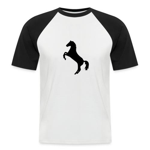 Promodoro Raglan Shortsleeve - Kortermet baseball skjorte for menn
