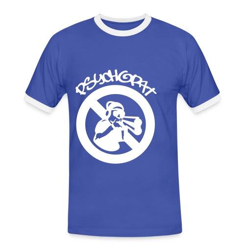 psycho - T-shirt contrasté Homme