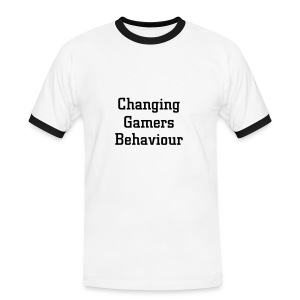 Changing Gamers Behaviour blanc-noir - T-shirt contrasté Homme