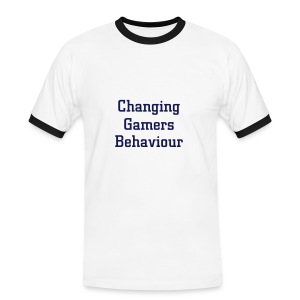 Changing Gamers Behaviour blanc-marine - T-shirt contrasté Homme