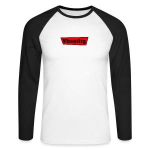 Abseitig Lang - Männer Baseballshirt langarm