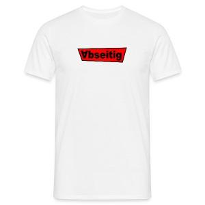 Abseitig Weiss - Männer T-Shirt