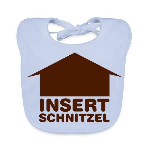 Insert Schnitzel - Baby Bio-Lätzchen