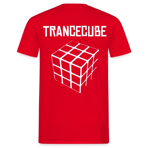 trancecube r - Men's T-Shirt