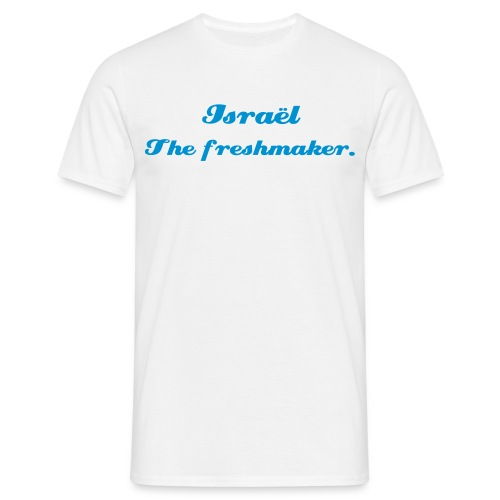 Israël the freshmaker - T-shirt Homme