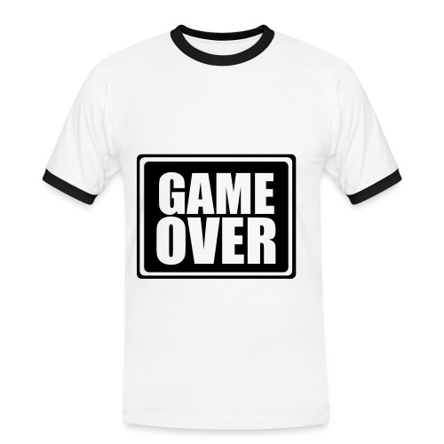 game over - T-shirt contrasté Homme