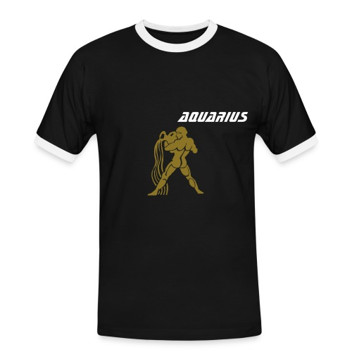 Aquarius - Men's Ringer Shirt